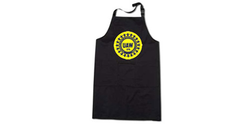 Union Made and Screen Printed Aprons