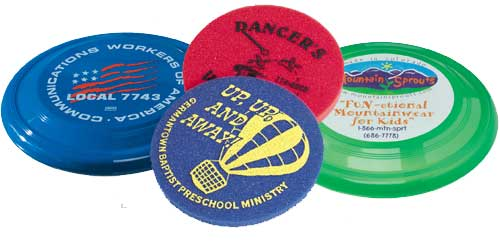 American Advertising - Union Made Funflyers and Frisbees 61149aab6343