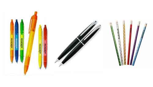 american advertising union made and printed pens and pencils