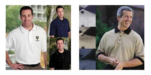 American Advertising - Union Polo Shirts, Embroidered or